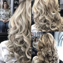 Platinum Curls
