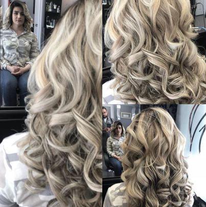 Platinum Curls