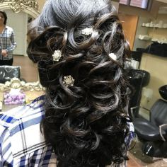 Hair for Special Occasion